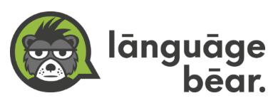 Logo Language Bear